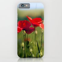 iPhone & iPod Case featuring Poppies  by Istvan Kadar Photography