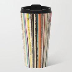 Record Collection Travel Mug