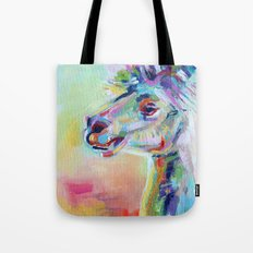 Colorful Rainbow Llama P… Tote Bag