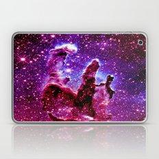 galaxy nebula : Pink & Purple pillars of creation Laptop & iPad Skin