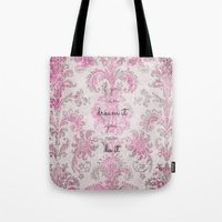 You Can Tapestry V. Pink… Tote Bag