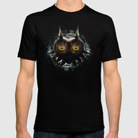 Epic Pure Evil Of Majora… Mens Fitted Tee Black SMALL