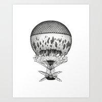 Jellyfish Joyride Art Print