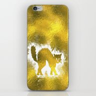 iPhone & iPod Skin featuring Angry Cat by Better HOME