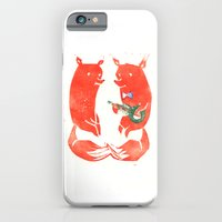 Mister Fox In Love iPhone 6 Slim Case