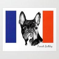French Bulldog. The Tota… Art Print