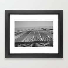 NEW YORK BUILDING.  Framed Art Print