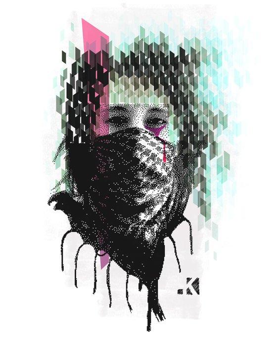RIOT girl Art Print