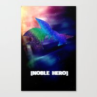 Goku In Space Canvas Print