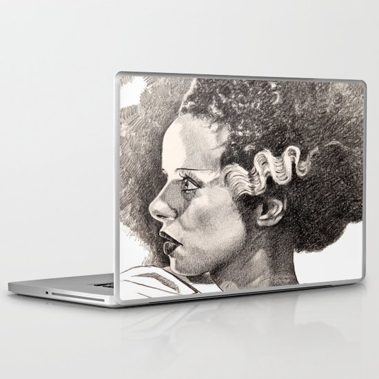 The bride of frankenstein elsa lancaster Laptop & iPad Skin