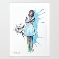 If I Stay Extremely Stil… Art Print