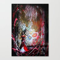 Eveningstar  Canvas Print