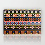 Colourful Tribal Aztec P… Laptop & iPad Skin