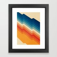 Framed Art Print featuring Barricade by Tracie Andrews
