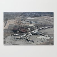 Airport Canvas Print