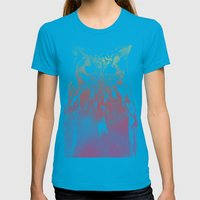 Hedwig Womens Fitted Tee Teal SMALL