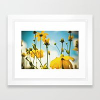 Happy Day Filled With Su… Framed Art Print