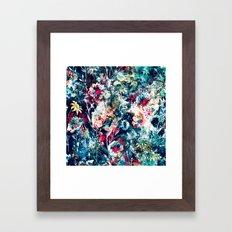 SPACE GARDEN Framed Art Print