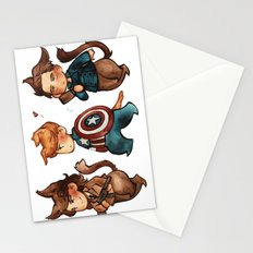 onward to adventure! Stationery Cards