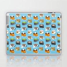 Cat Coffee Laptop & iPad Skin