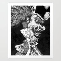 Mad Hatter HiDef Art Print