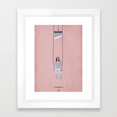 Dangerous games Framed Art Print