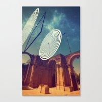 Signals Canvas Print
