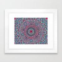 Mesmerizing Mandala Framed Art Print