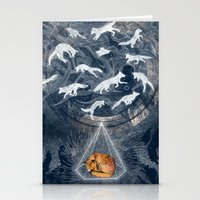 GHOSTS  Stationery Cards