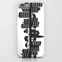 iPhone & iPod Case featuring Park Slope Skyline (B&W) by Armistead Booker