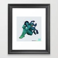 Monkeyback Framed Art Print
