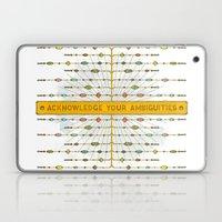 Acknowledge Your Ambigui… Laptop & iPad Skin