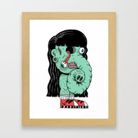 Alienfanta Framed Art Print