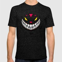 LITTLE KITTY Mens Fitted Tee Tri-Black SMALL
