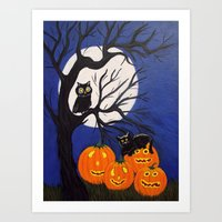 Halloween-3 Art Print