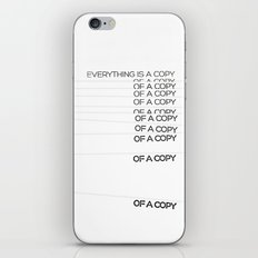 COPY iPhone & iPod Skin