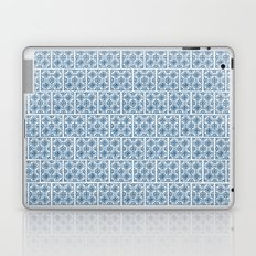 Blue Tile Pattern No. 3 Laptop & iPad Skin