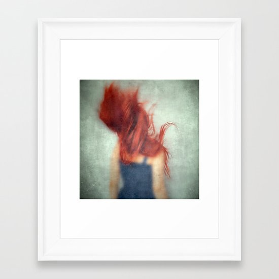 No Other Way Framed Art Print