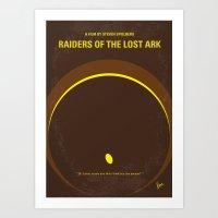No068 My Raiders Lost A … Art Print