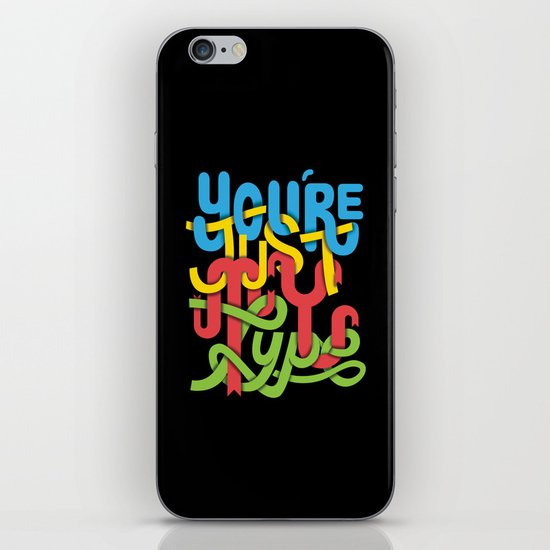 You're just my type iPhone & iPod Skin