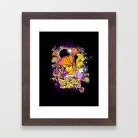 Space Pirates Framed Art Print