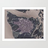 Olympic Peninsula Art Print