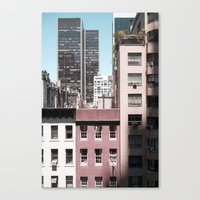 View Of NYC From A MoMa … Canvas Print
