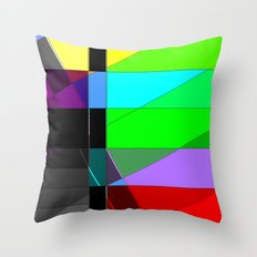 Black out. Throw Pillow