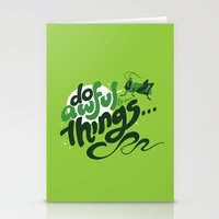 I'm Your @$#!%*& Conscience! Stationery Cards