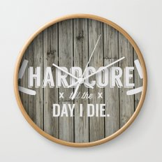 x HARDCORE x Wall Clock