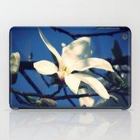 White Magnolia iPad Case
