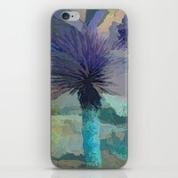 TheDesert Blue -By Sherr… iPhone & iPod Skin