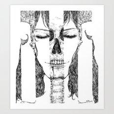 sleeping beauty Art Print