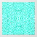Radiate (Mint) Canvas Print